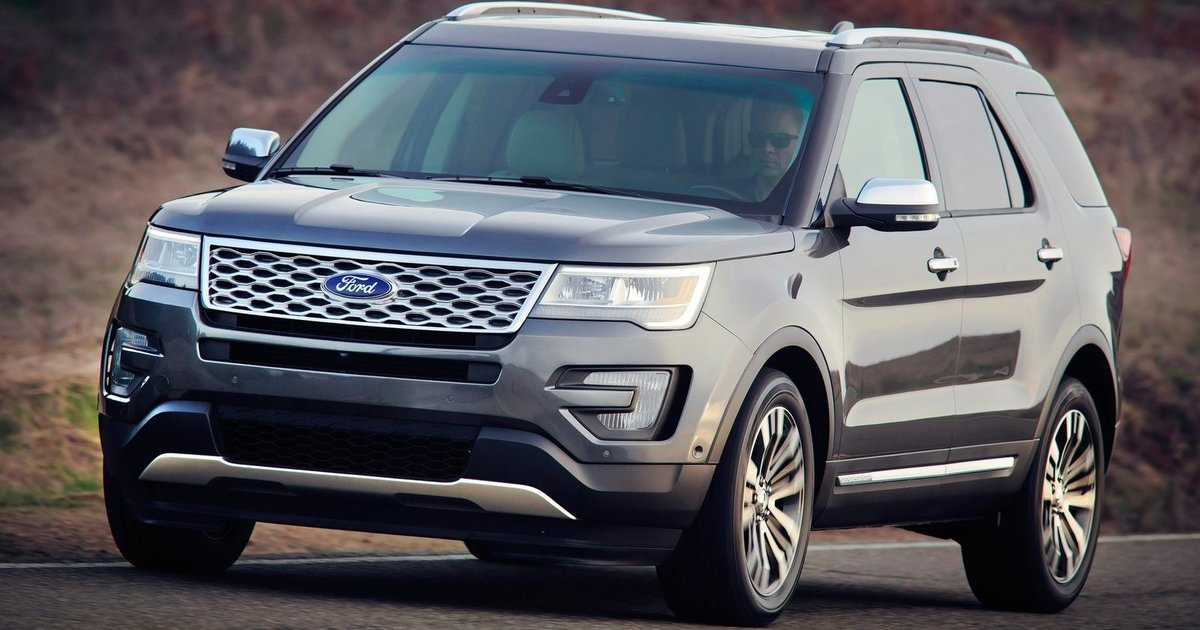 2016 ford explorer new look new technology for updated large suv. Black Bedroom Furniture Sets. Home Design Ideas