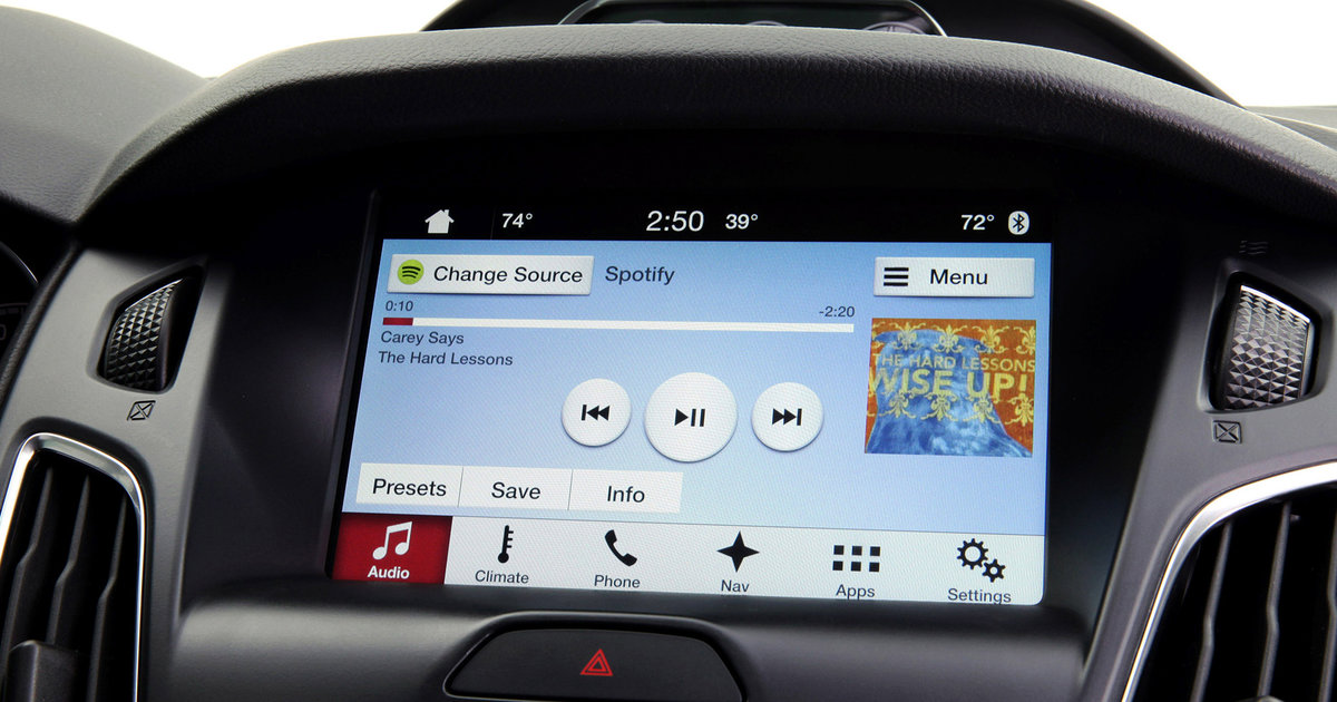 Ford Sync 3 Entertainment System Debuts Ditches Microsoft