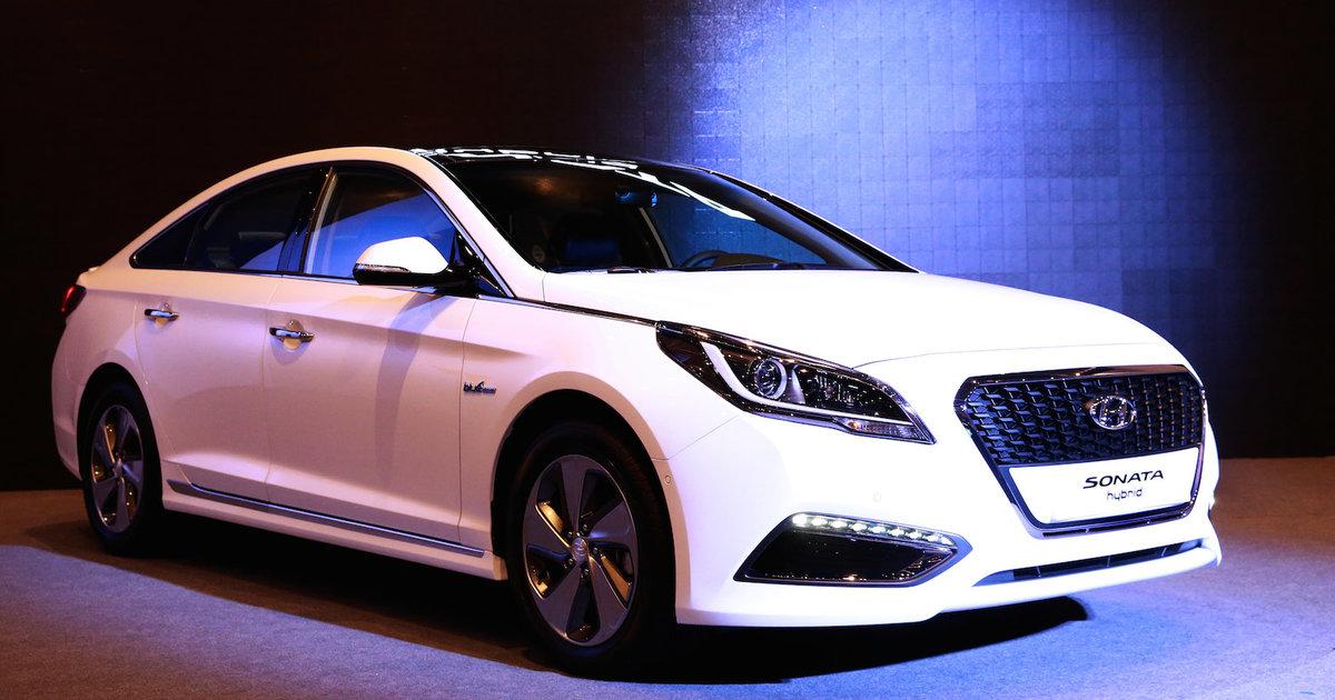 2015 Hyundai Sonata Hybrid >> 2015 Hyundai Sonata Hybrid unveiled