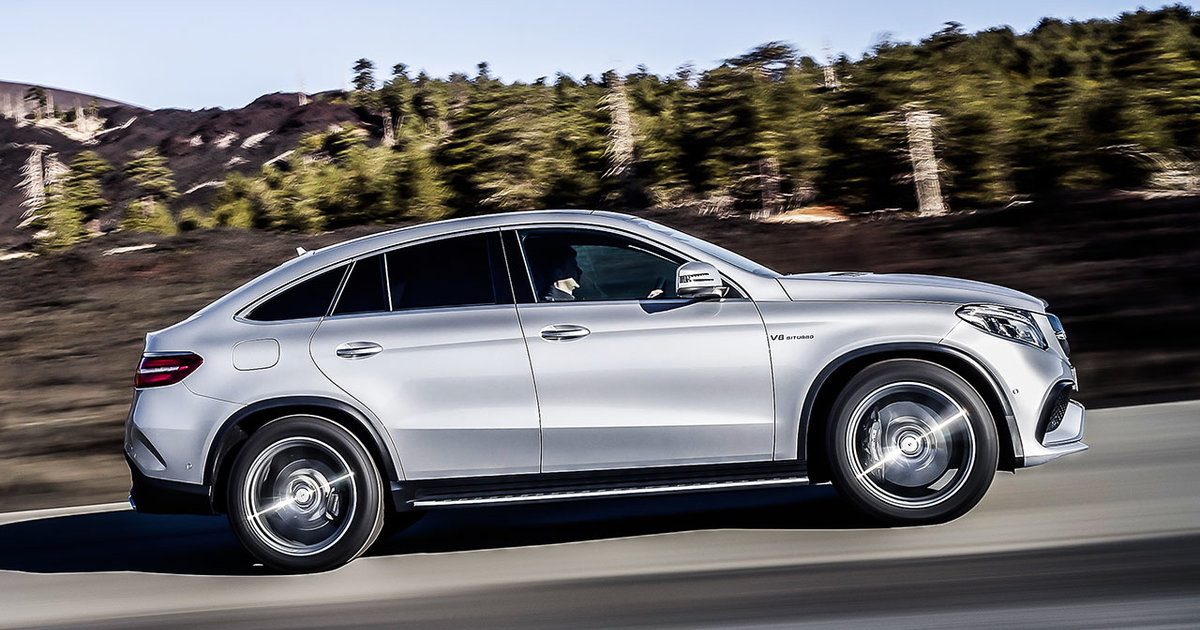 Mercedes Benz Gle Coupe Could Have Beaten Bmw X6 To Market