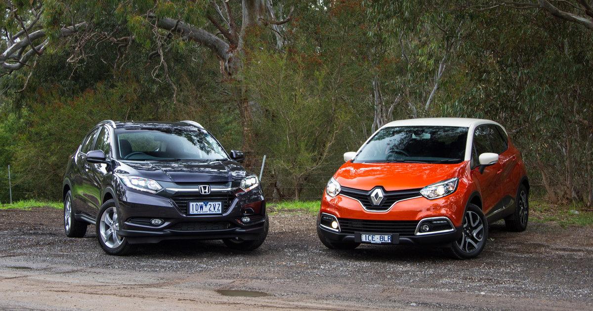Honda HR-V VTi-S v Renault Captur Dynamique : Comparison ...