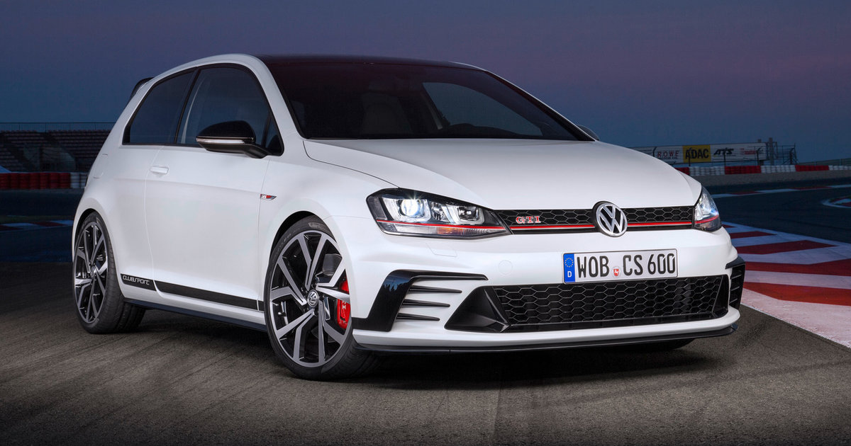 Volkswagen Golf Gti Clubsport Goes Official To Celebrate 40th