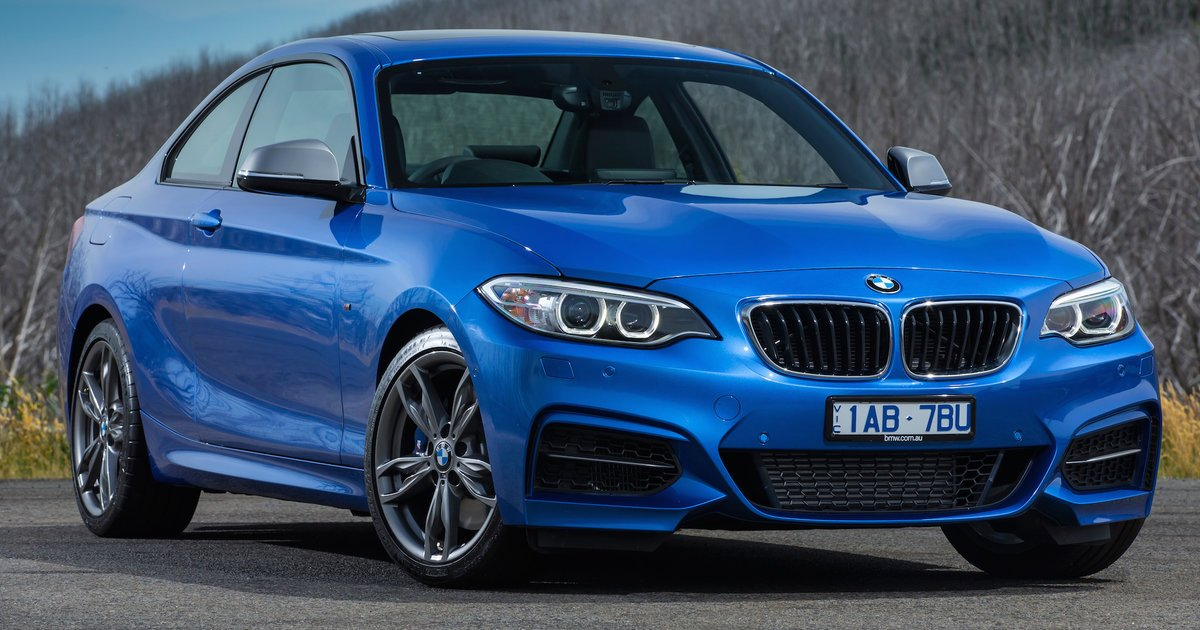 2016 bmw 2 series coupe and convertible pricing and specification update. Black Bedroom Furniture Sets. Home Design Ideas