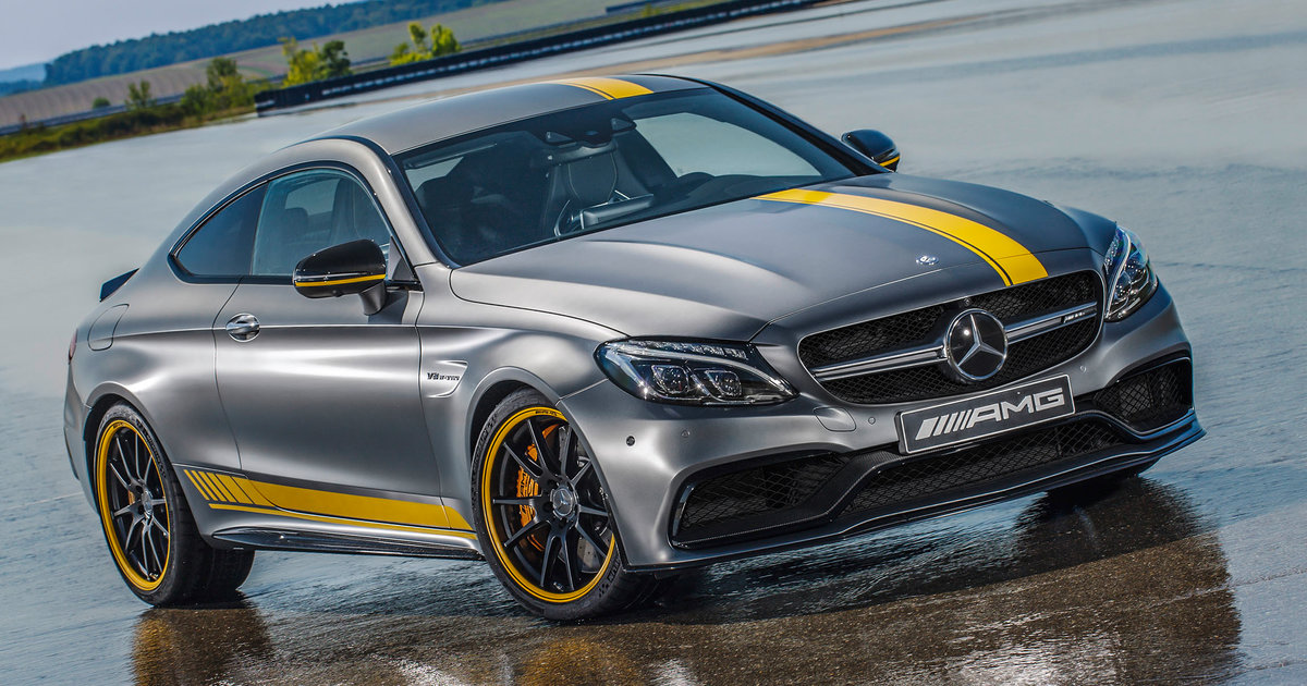 mercedes amg c63 coupe edition 1 unveiled. Black Bedroom Furniture Sets. Home Design Ideas