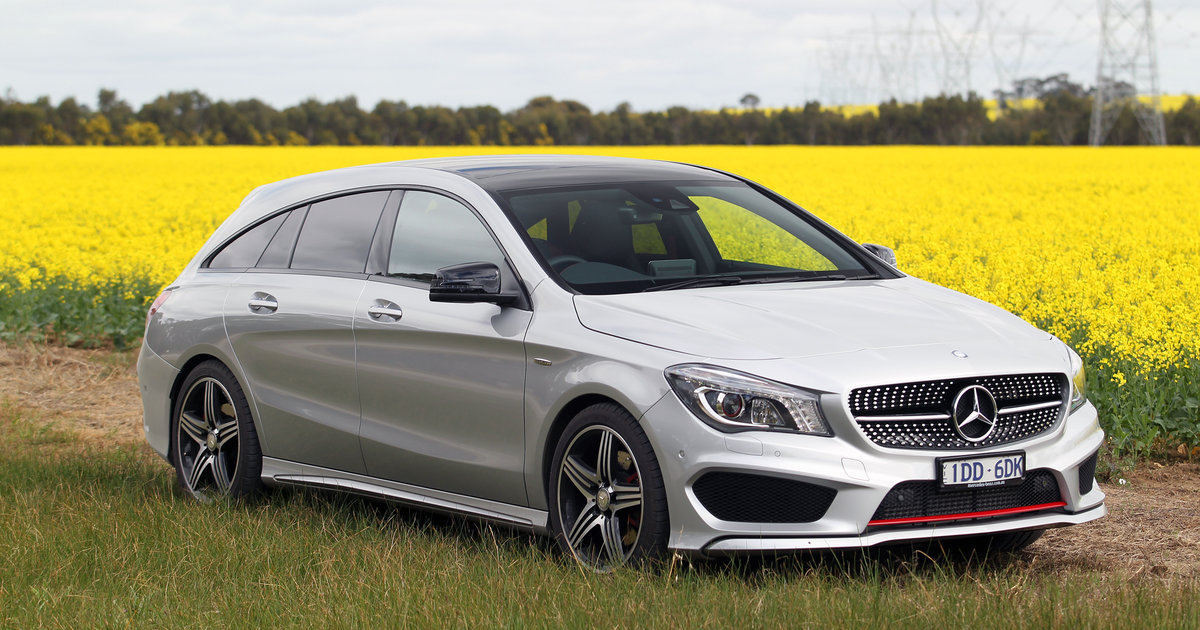 Mercedes benz cla250 shooting brake review caradvice for Mercedes benz cla 250 specs