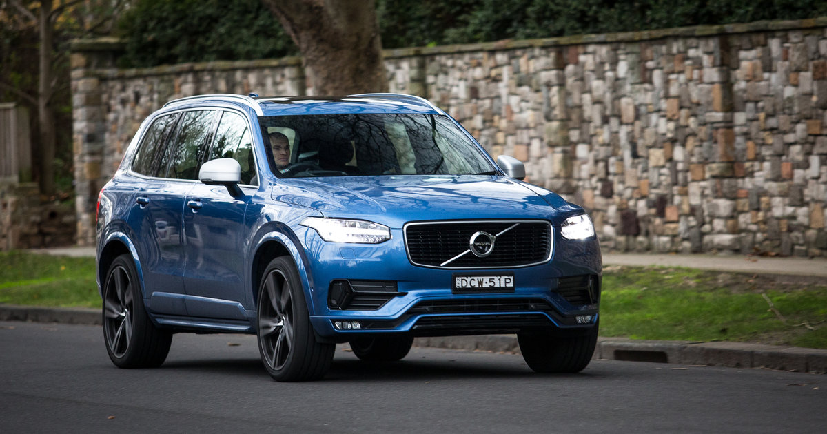 2017 volvo xc90 recalled for seatbelt fix update photos. Black Bedroom Furniture Sets. Home Design Ideas