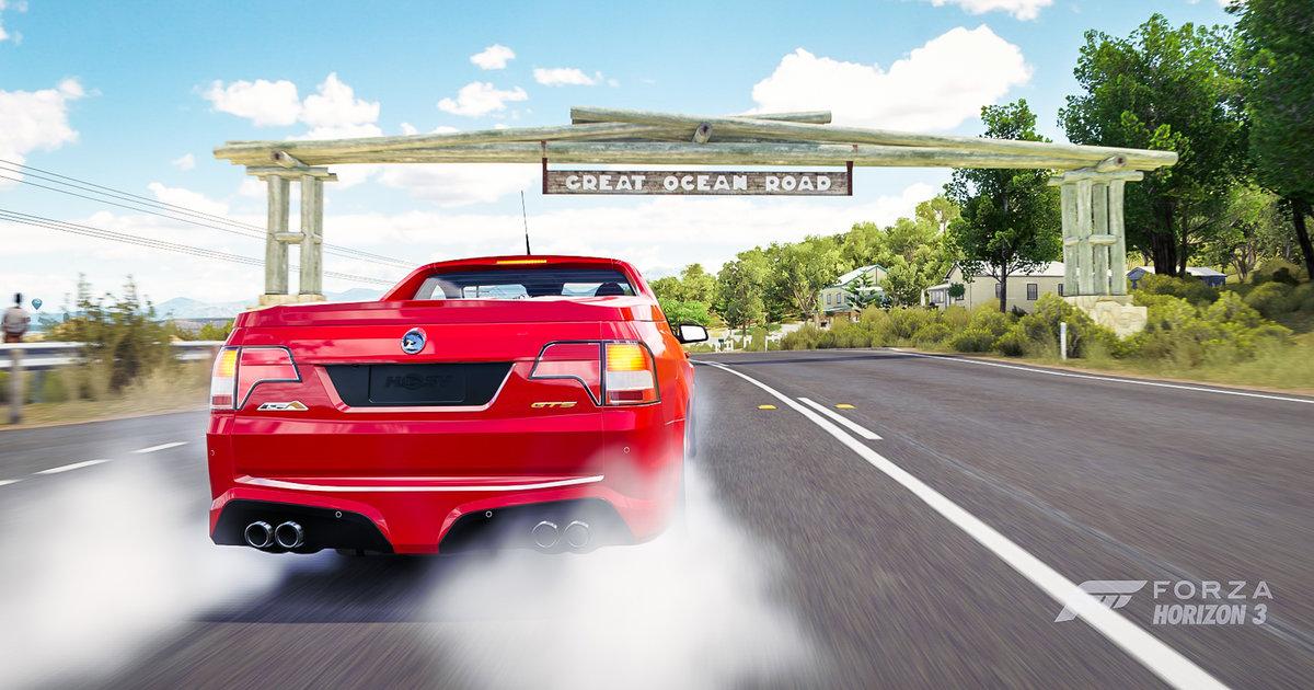 Forza horizon 3 review virtual versus reality in the hsv for Garage bmw horizon