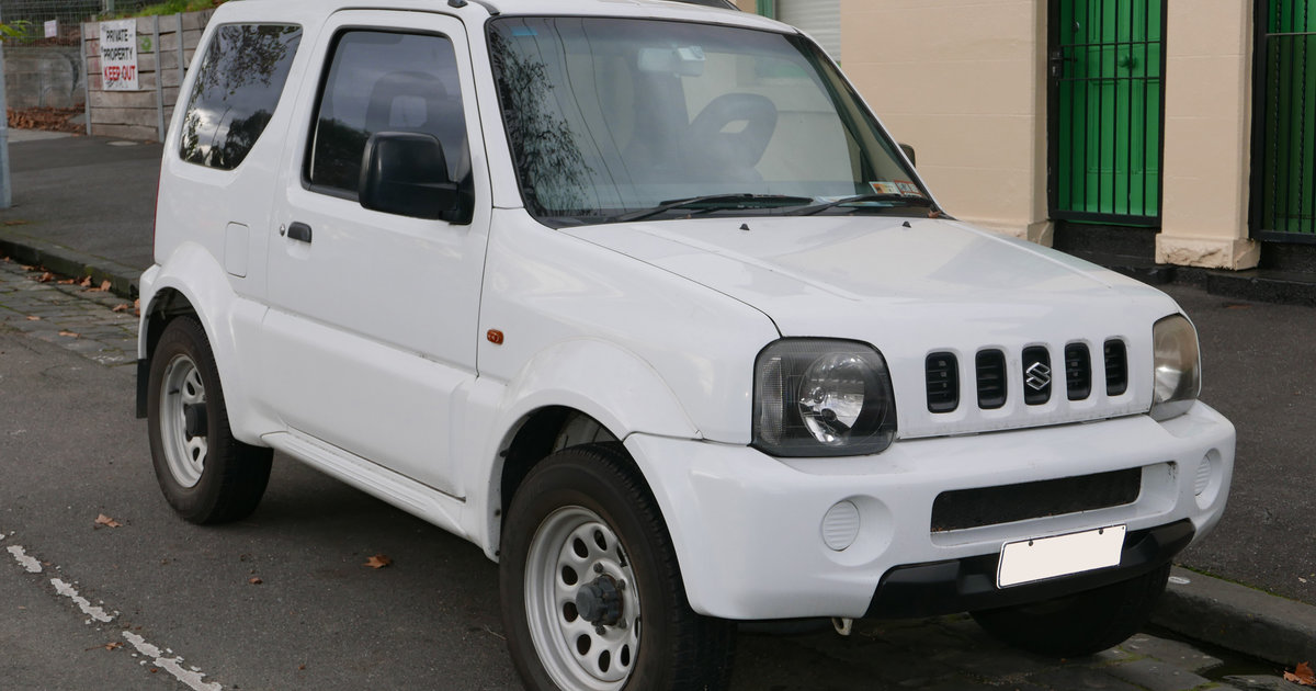 2000 suzuki jimny jx 4 4 review caradvice. Black Bedroom Furniture Sets. Home Design Ideas