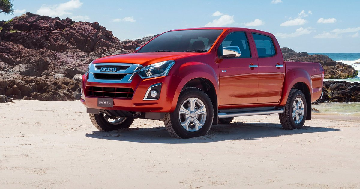 2017 isuzu d max pricing and specs updated engine and more kit. Black Bedroom Furniture Sets. Home Design Ideas