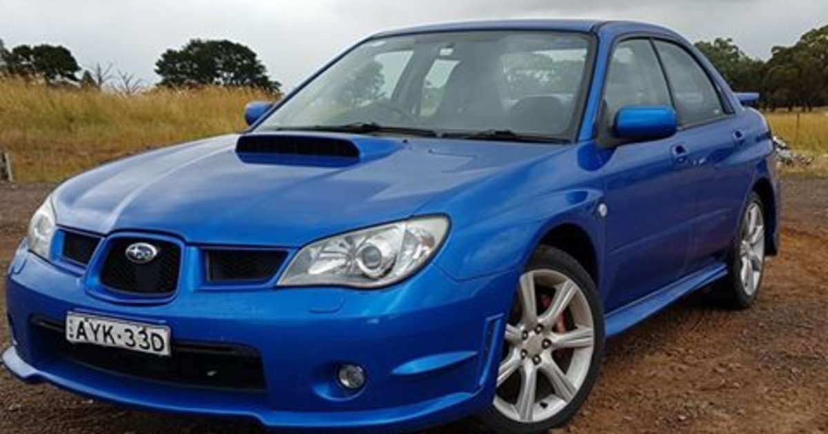 2006 subaru impreza wrx awd review caradvice. Black Bedroom Furniture Sets. Home Design Ideas
