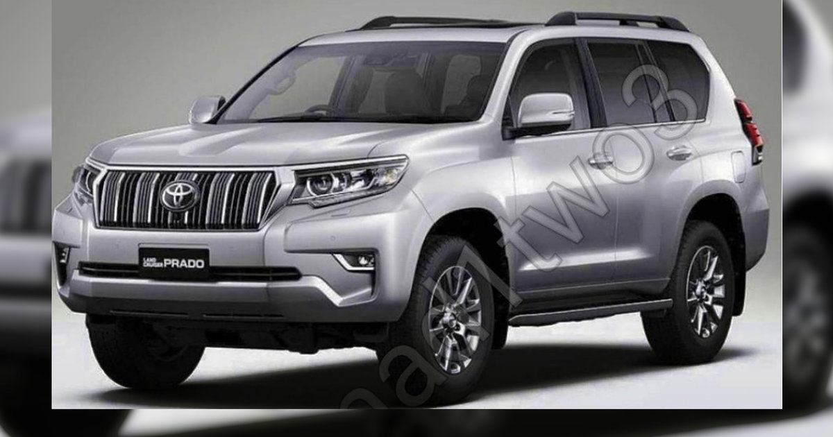 2018 Toyota Prado facelift leaked – UPDATE