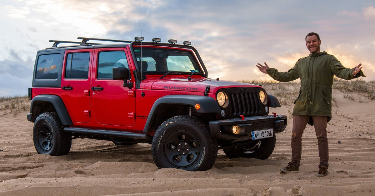 hitting the beach in the 2017 jeep wrangler unlimited rubicon. Black Bedroom Furniture Sets. Home Design Ideas