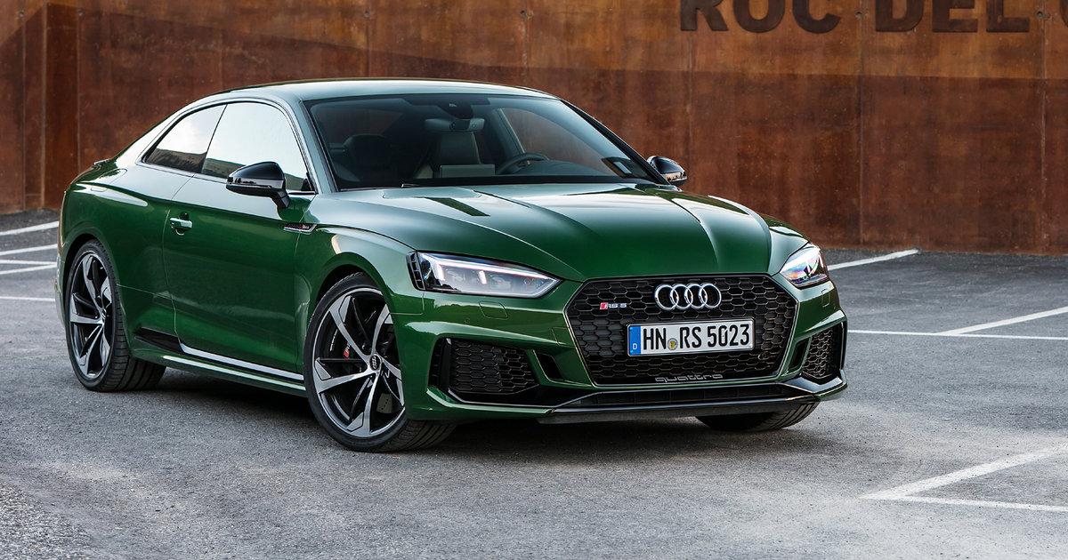 2018 Audi Rs5 Pricing And Specs Big Turbo Coupe Here In