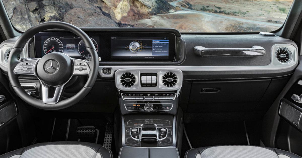 2018 Mercedes Benz G Class Interior Revealed