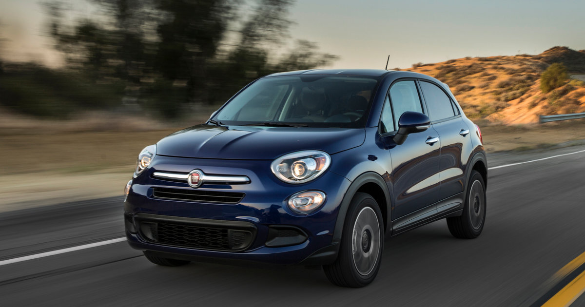 2018 fiat 500x pricing and specs. Black Bedroom Furniture Sets. Home Design Ideas