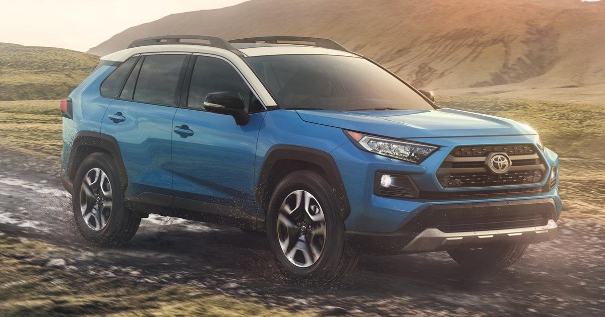 2019 Toyota Rav4 Revealed Photos