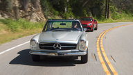 Road Trip USA: Pacific Coast Highway in a 1969 Mercedes-Benz 280SL Pagoda