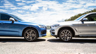2018 BMW X3 xDrive30i v Volvo XC60 T6 R Design comparison
