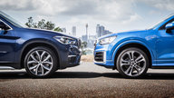 2018 Audi Q2 2.0 TFSI quattro S tronic sport v BMW X1 xDrive25i comparison