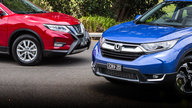 2018 Honda CR-V VTi-L v Nissan X-Trail ST-L comparison