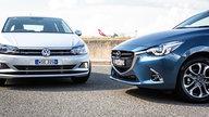 2018 Mazda 2 GT automatic v Volkswagen Polo 85TSI Comfortline DSG