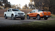 2018 Mercedes-Benz X-Class X250d Power v Ford Ranger Wildtrak comparison