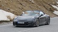 Porsche 911 Speedster snapped again