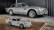 Aston Martin DB5 gets Lego-fied