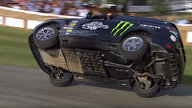 Tony Grant sets two-wheel record at Goodwood - video