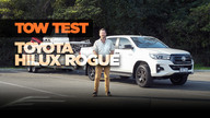 2018 Toyota Hilux Rogue tow test