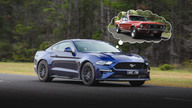 Past Blast: Ford Mustang, old and new