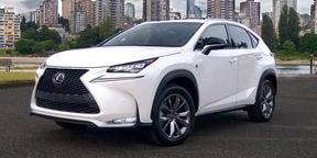 Lexus NX Review: Japan