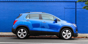 Holden Trax MyLink demonstration