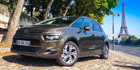 Citroen C4 Picasso Review : First Drive in Paris
