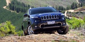 Jeep Cherokee Limited Diesel Review : Off-road drive