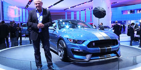 Ford Mustang Shelby GT350R First Look : NAIAS Detroit Motor Show 2015