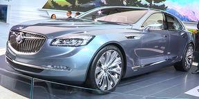 Buick Avenir First Look : NAIAS Detroit Motor Show 2015