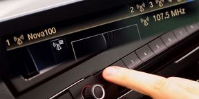 BMW Touch Sensitive Radio Preset Buttons