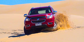 2015 Holden Colorado 7 Sand Driving at Stockton