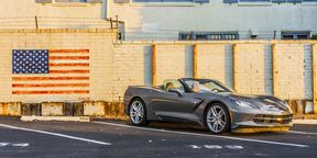 Corvette Stingray Review : Drop top in the California Canyons