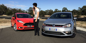 Ford Fiesta ST v Volkswagen Polo GTI Comparison Review