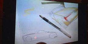 Hyundai Ute Concept sketched by Casey Hyun