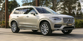 volvo xc90 first edition ten australians sign up for 120 000 luxury suv. Black Bedroom Furniture Sets. Home Design Ideas