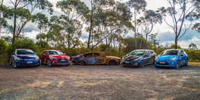 Warm-hatch Comparison Review : DS3 DSport v Astra GTC v Veloster SR Turbo v Pro_cee'd GT