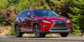 2016 Lexus RX200t Review : RX International Launch