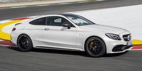 2016 Mercedes AMG C 63 S Coupé Trailer