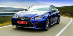 Lexus GS F Review - First Drive