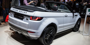 2016 Range Rover Evoque Convertible Gerry McGovern Design Interview : 2015 LA Auto Show