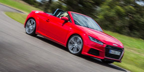 2016 Audi TT-S Roadster Review
