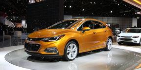 Chevrolet Cruze hatchback : Detroit Auto Show 2016